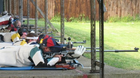 Smallbore rifle shooters at the CSSC Championships
